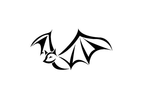 Easy Tattoo Bat | simple bat tattoo design tattoobite clipart best