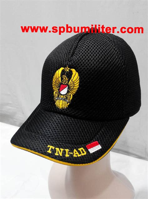 Topi Provos Tni Ad Topi Army topi tni ad hitam jaring spbu militer