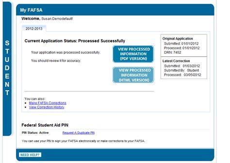 printable version of fafsa application teach missouri printing your student aid report sar