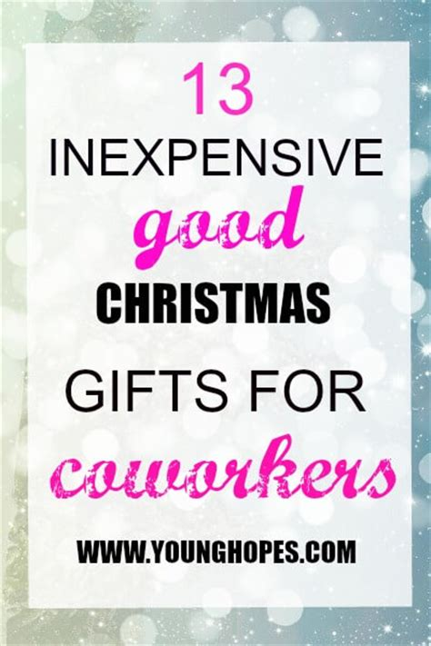 13 inexpensive good christmas gifts for coworkers