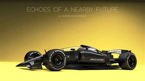 2019 Mclaren F1 by 2019 Mclaren Honda F1 Car Renderings