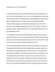 descriptive essay exles about an object descriptive narrative essay