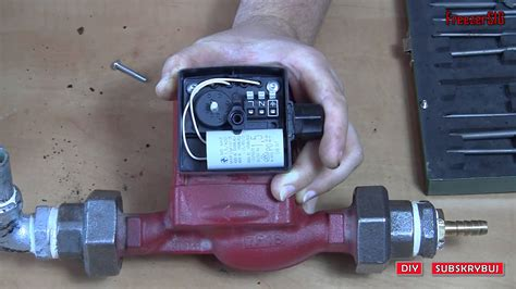 diy pompa grundfos ups 25 40 c o skrzynka elektryczna