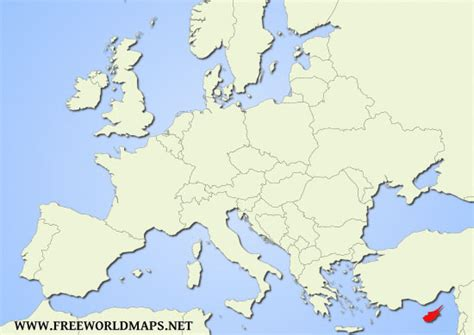 where is cyprus on the world map where is cyprus located on the world map