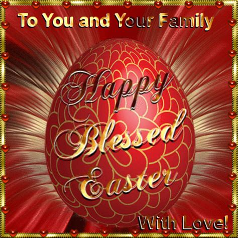 family  happy easter ecards greeting