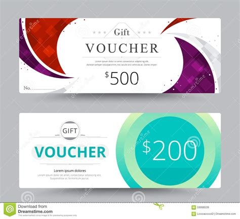voucher card template gift voucher card template design for special time