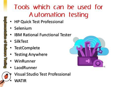 tutorial visual studio test professional implementation of software testing