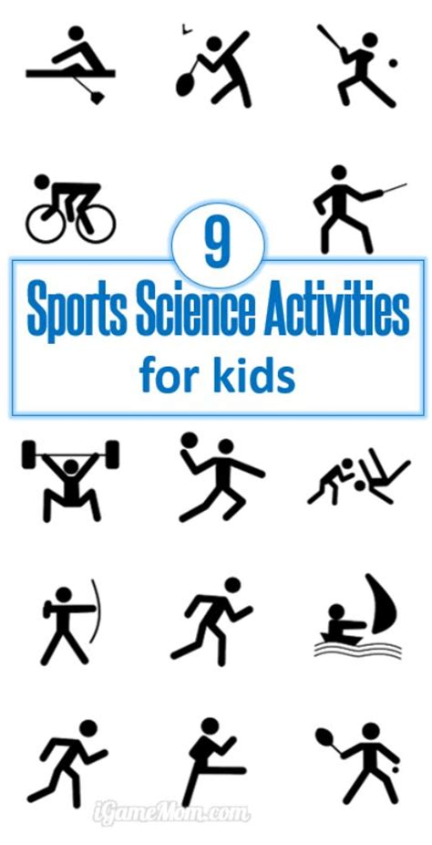 science activities for kids i am and for kids on pinterest 9 sports science activities for kids