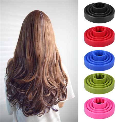 Folding Hair Dryer Diffuser silicone folding hairdryer diffuser hair dryer blower