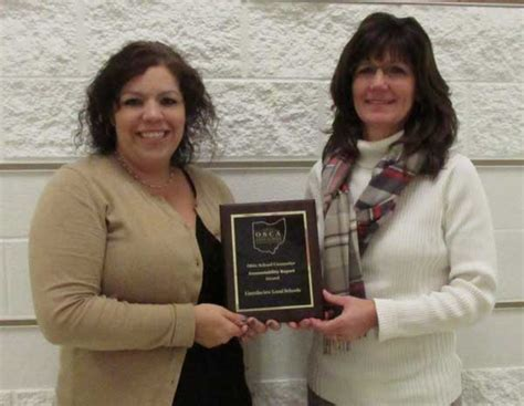 ohio school counselor association lincolnview counselors receive recognition times bulletin