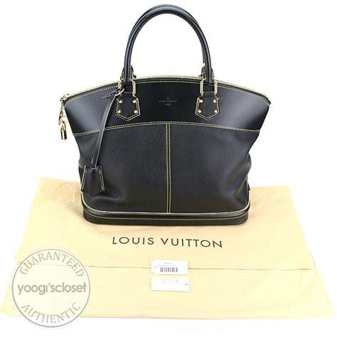 Louis Vuitton Suhali Lockit Mm by Louis Vuitton Black Suhali Lockit Mm Bag Yoogi S Closet