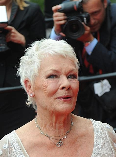 show back of judy dench hairstyle 1000 images about judi dench hair on pinterest for