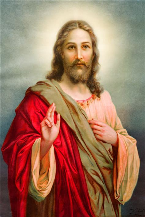custom mercy  jesus poster canvas poster home decoration