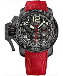 graham swordfish grillo alarm gmt men's watch model: 2swgs