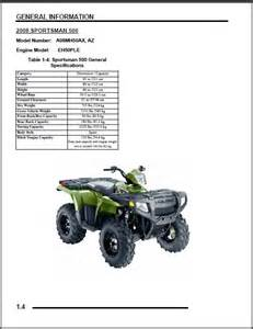 2007 sportsman 500 touring repair manual autos post