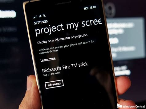 project my screen android mirror your windows phone to the big screen with the low cost tv stick windows central