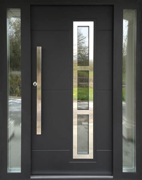 Exterior Modern Doors by Contemporary Composite Exterior Doors Exterior Doors And