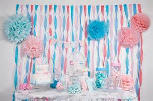 Baby Shower Table by Baby Shower Rose Et Bleu Organisation Baby Shower