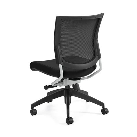 Graphic Armless Mesh Back Office Chair