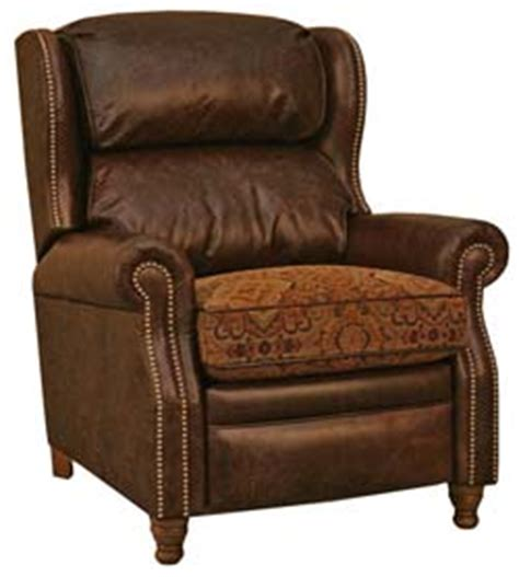 Western Leather Recliner by Galveston Western Leather Recliner Western Accent Chairs Free Shipping