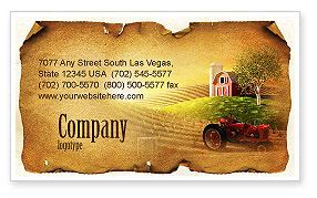 farm business cards templates on the farm business card template layout