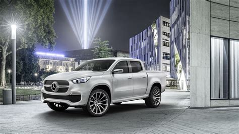 mercedes pickup 2017 2017 mercedes benz x class pickup truck wallpaper hd car