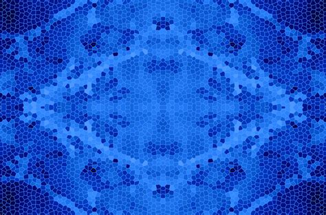 blue pattern glass stained glass pattern in blue free stock photo public
