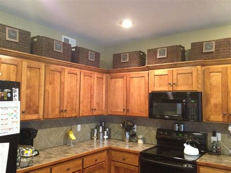 Storage On Top Of Kitchen Cabinets Storage Baskets On Top Of Kitchen Cabinets Storage Cabinet
