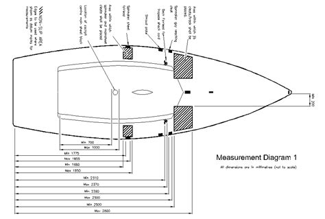 boat hull dimensions laser 2 laser ii info dinghy sailing class