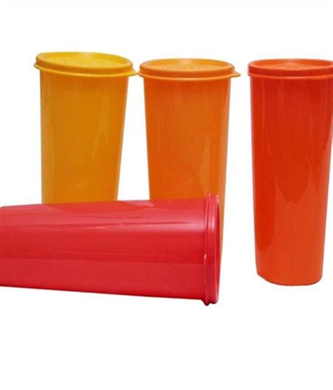 Tupperware Rainbow Set tupperware rainbow tumblers set of 4 tupperware