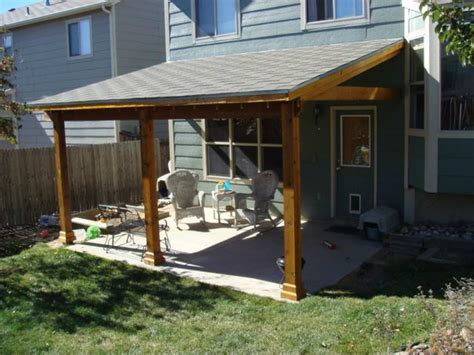 Sunset Awning Covered Wood Deck On Mobile Home Joy Studio Design
