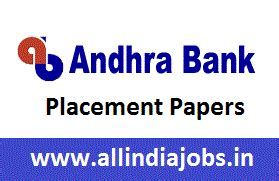 Andhra Placements For Mba by Andhra Bank Placement Papers Pdf 2017 2018