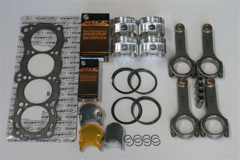 mitsubishi 4g63 evo engine rebuild kit with cp forged