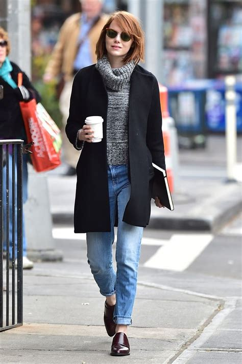emma stone clothes emma stone best new york city outfits