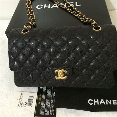 Chanel Medium chanel bags sold classic flap bag medium black ghw poshmark