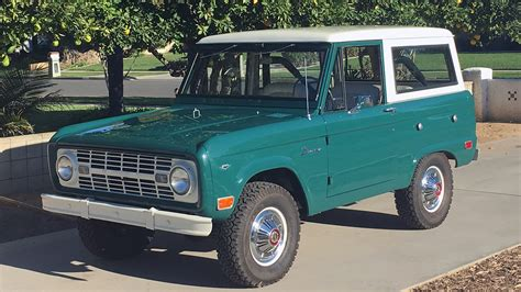1968 Ford Bronco by 1968 Ford Bronco T129 Anaheim 2016