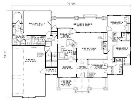 floor plans craftsman craftsman ranch floor plans craftsman house floor plans