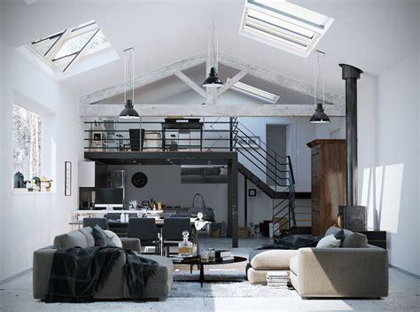 white loft lofted luxury