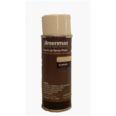amerimax home products pro 12 oz almond touch up spray paint 8524069p the home depot