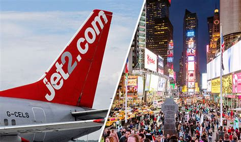 jet2 launches direct flight to new york from stansted travel news travel