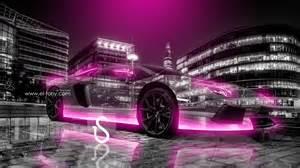 Pink Lamborghini Wallpaper Lamborghini Aventador City Car 2013 El Tony