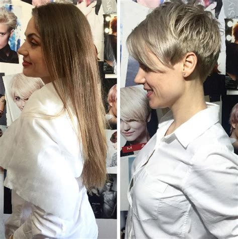 10 Stunning Long to Short Hair Makeovers   Hair