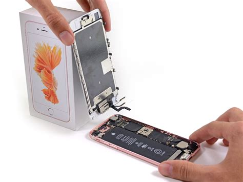 iphone  display replacement ifixit