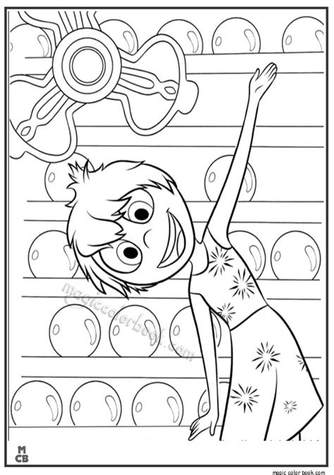 coloring pages for inside out the movie inside out coloring pages free printable 36 magic color book