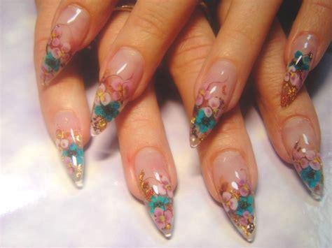 Aquarium Design Nail Art | different types of creative nail art designs