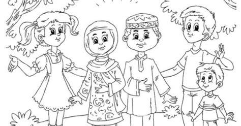 Coklat Telur Kinder For Boys Exp Lama proyek untuk dicoba on 31 pins coloring page muslim children with western children