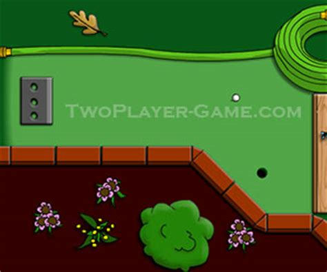 backyard mini golf game backyard mini golf 2 player golf game play backyard mini