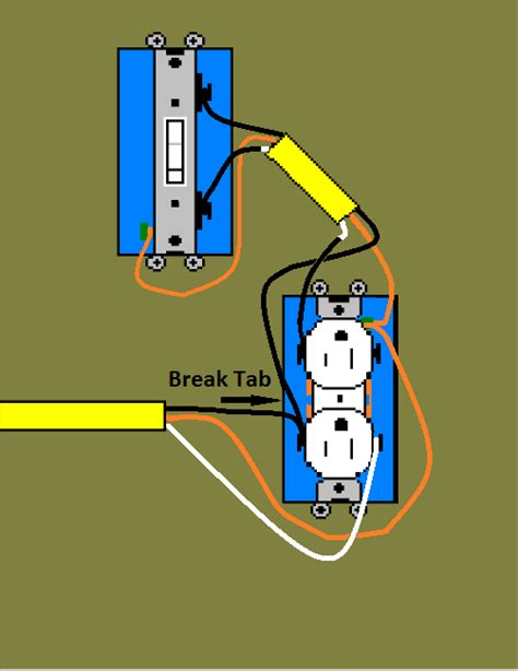 how to install a switched receptacle tomcomknowshow