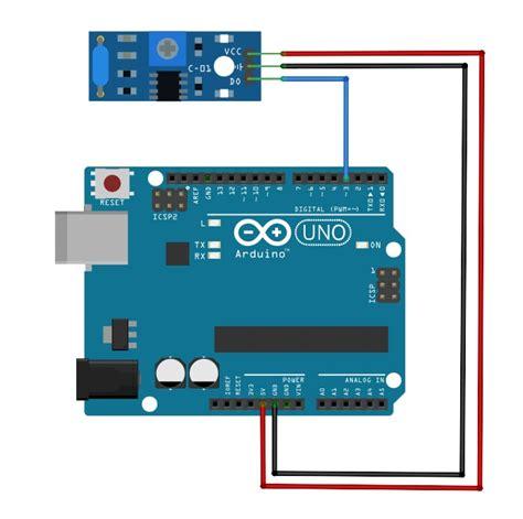 arduino lesson vibration sensor module osoyoocom