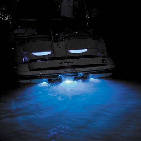 led boat house lights h2o lights led underwater transom lighting babbitts
